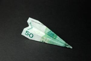 Papirfly-Medium